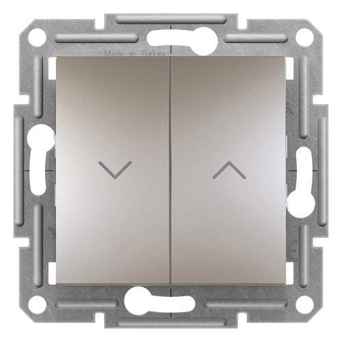 SCHNEIDER ELECTRIC - Бутон за щори бронз Asfora EPH1300369
