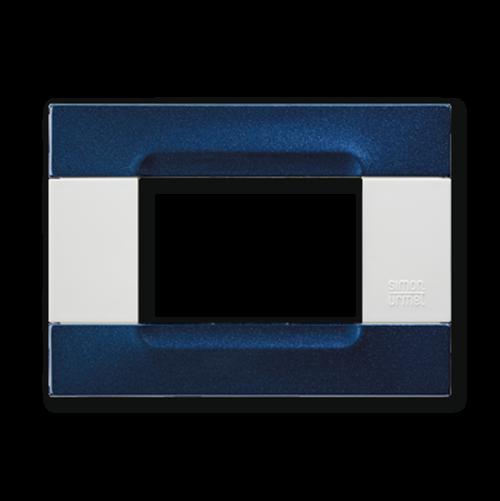 SIMON URMET - 10903.B.78 Metallized Blue Polychrome Metal Finishes Kadra