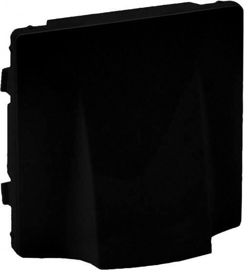 LEGRAND - Лицев панел за твърда връзка цвят Черен Valena Life 756732
