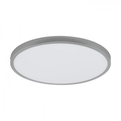 EGLO - ПЛ LED панел 25W 2900lm 4000K Ø500 димер.сребро 'FUEVA 1' 97276