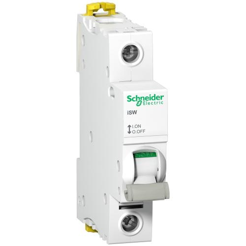 SCHNEIDER ELECTRIC - Товаров прекъсвач /шалтер/ Acti 9 iSW 1P 100A 250V 1 мод. A9S65191