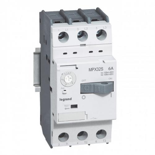 LEGRAND - Моторна защита 3P 4-6A тип MPX3 32S 417308