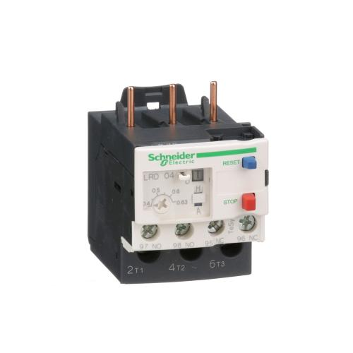 SCHNEIDER ELECTRIC - Термична защита TeSys D 0.4...0.63A LRD04