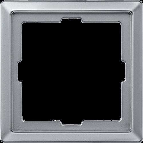 SCHNEIDER ELECTRIC - MTN481160 рамка единична алуминий Artec Merten
