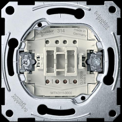 SCHNEIDER ELECTRIC - MTN3111-0000 Еднополюсен ключ механизъм 10A