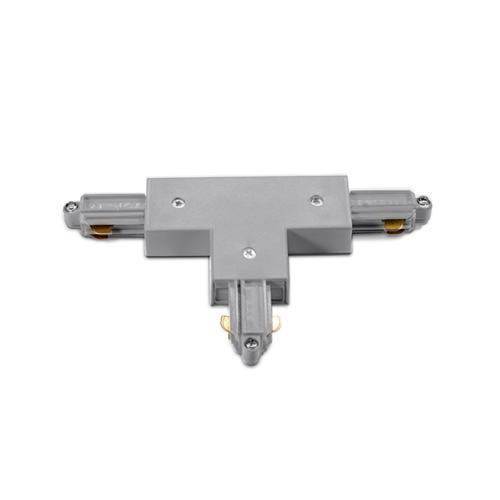 ACA LIGHTING - Т-обрзен конектор за монофазна шина сива 2WTG