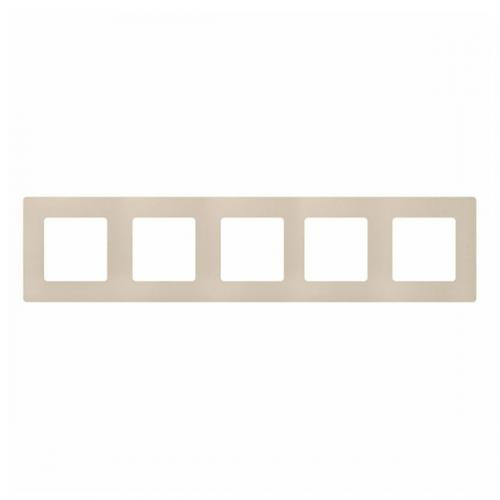 LEGRAND - Петорна рамка NILOE 665015 крем