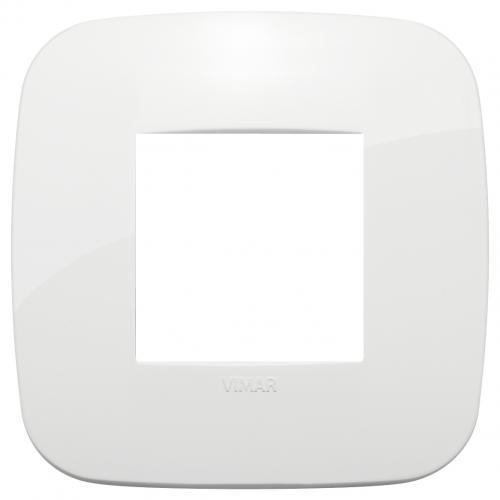 VIMAR - 19672.84 - Двумодулна рамка Round технополимер white