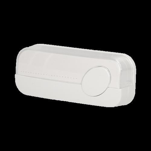 ORNO - Бутон за звънец IP44 открит монтаж Бял  OR-DP-VD-138PD1