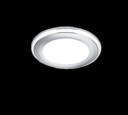 TRIO - LED панел за вграждане 5W хром AURA – 652310106