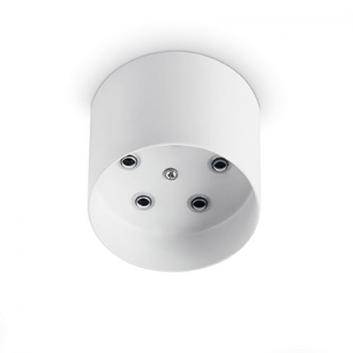 IDEAL LUX - Розетка за таван  ROSONE METALLO 5 LUCI ROUND Bianco 138091