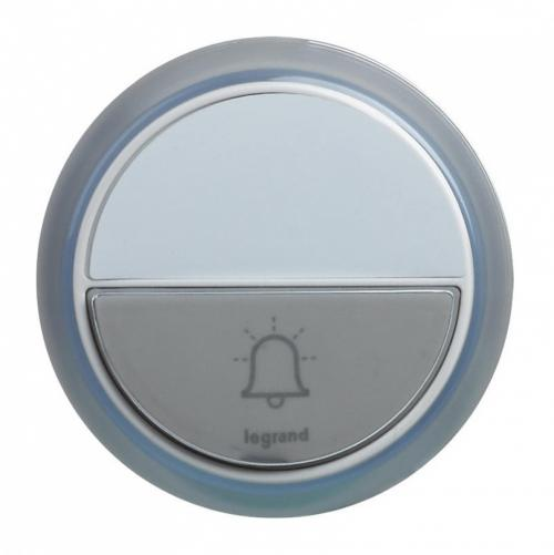 LEGRAND - 94278 Допълнителен бутон за звънец бял  IP 44