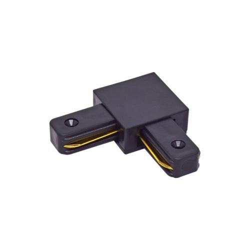VIVALUX - Ъглов конектор за релса за осветителни системи LINK-L - черен VIV004075