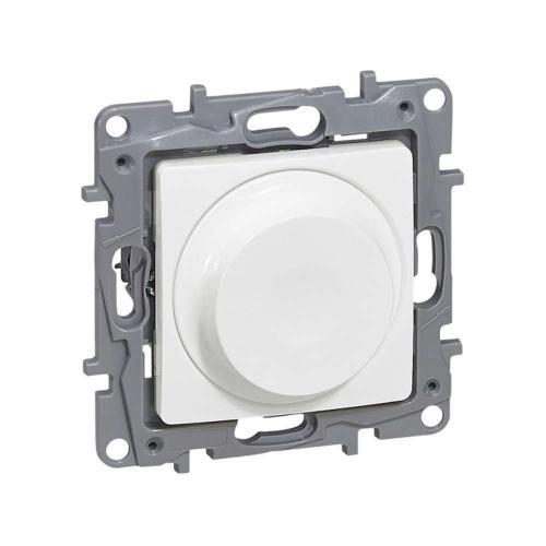 LEGRAND - 764588 Димер ротативен универсален бял 5-75/300W за всички товари + LED