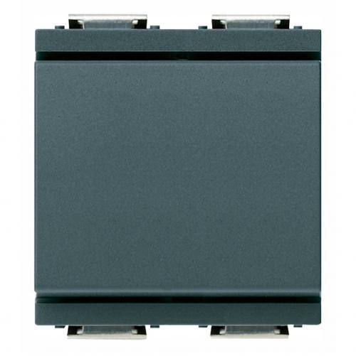 VIMAR - 17003.G Ключ девиаторен 2 модула 16А сив IDEA
