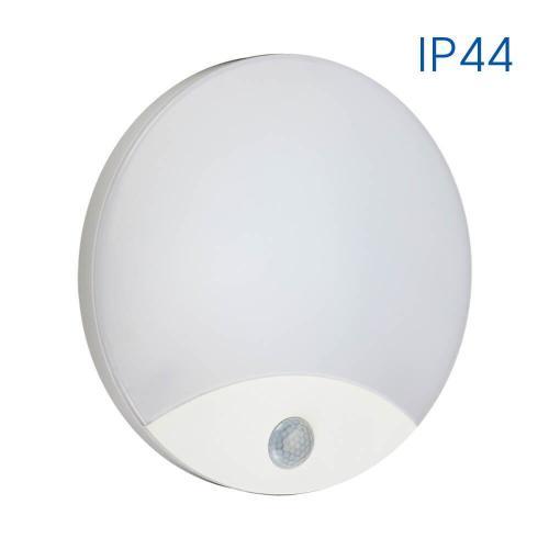 VIVALUX - LED аплик със сензор за движение LIMA LED 10W SR16-W VIV003886