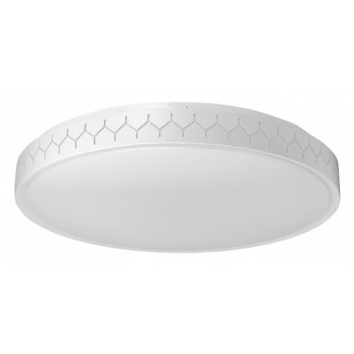 ULTRALUX - SPLF6042RC - LED dimmable CCT ceiling lamp with decorative periphery 60W 3000-6500K 220-240V, IP20