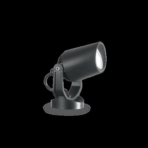 IDEAL LUX - Градински прожектор  MINITOMMY PT1  Nero 247199 3000K
