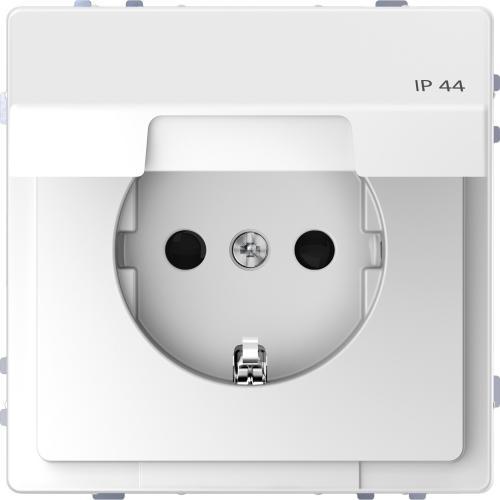 SCHNEIDER ELECTRIC - MTN2314-6035 Механизъм контакт шуко с лицев панел IP44 лотус System Design