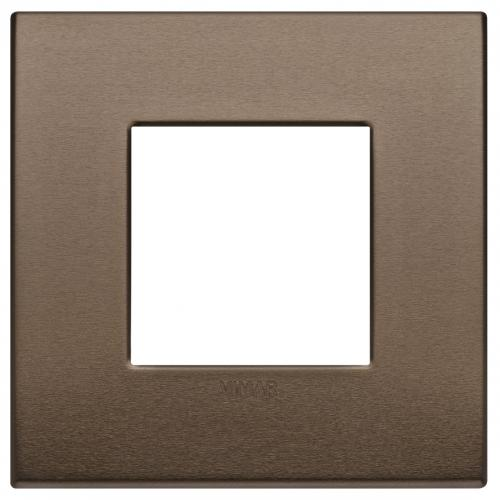 VIMAR - 19642.17 -Arke  Двумодулна рамка Classic dark bronze