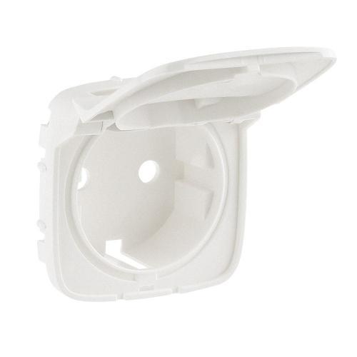 LEGRAND - Лицев панел за контакт с капак шуко с детска защита цвят Перла Valena Allure 754849
