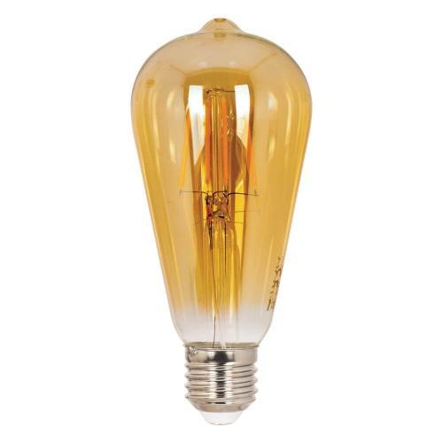 VITO - LED крушка димируема Retro LEDISONE 8W E27 2700K ST64 1513910