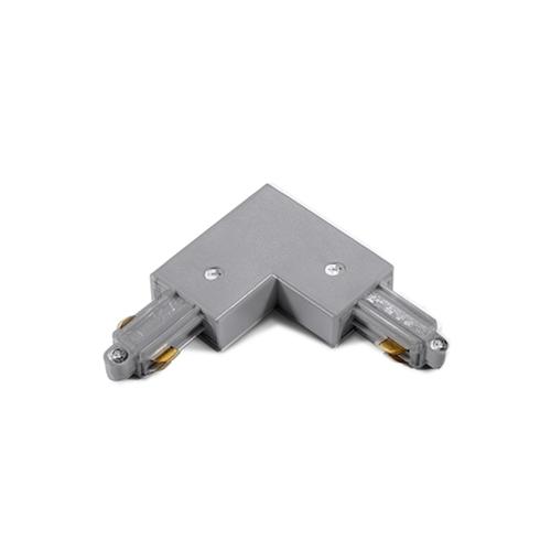ACA LIGHTING - Ъглов конектор за монофазна шина сив 2WLG