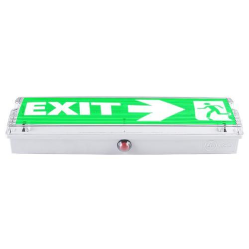 ULTRALUX - LLE365 LED Аварийно влагозащитено осветително тяло с вградена батерия 3W 6500K, IP44