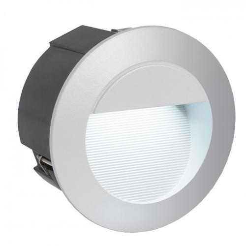 EGLO - LED луна ВЛ-ВГР. стълби 2,5W 320lm 4000K сребро 'ZIMBA-LED' 95233