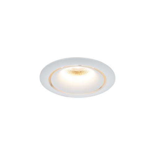 MAYTONI - LED Луна за вграждане кръгла бяла Yin DL031-2-L12W