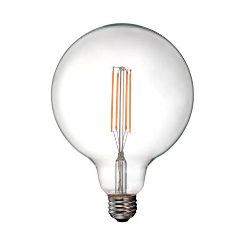 V-TAC - LED Bulb - 12.5W Filament E27 G125 Clear Cover 3000K SKU: 7453 VT-2143, 7454-4000К, 7455-6000К