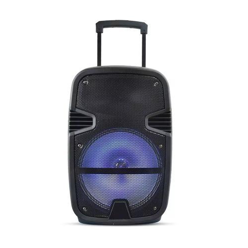 V-TAC - 35w мобилна колона+микрофон, RF контрол, RGB , 12inch говорител SKU: 7736 VT-6212