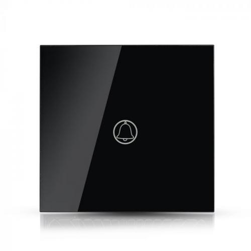 V-TAC - Звънец Ключ Touch Черен Стъкло SKU: 8397 VT-5411