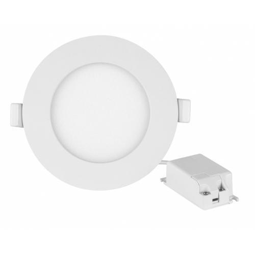 ULTRALUX - LPRB1227 LED панел за вграждане, кръг, 12W, 2700K, 220V-240V AC, топла светлина, SMD2835