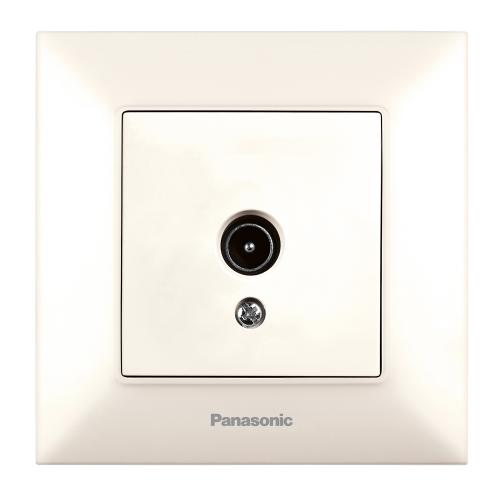 PANASONIC - TV розетка  Panasonic Arkedia Slim крем WNTC0452-2BG