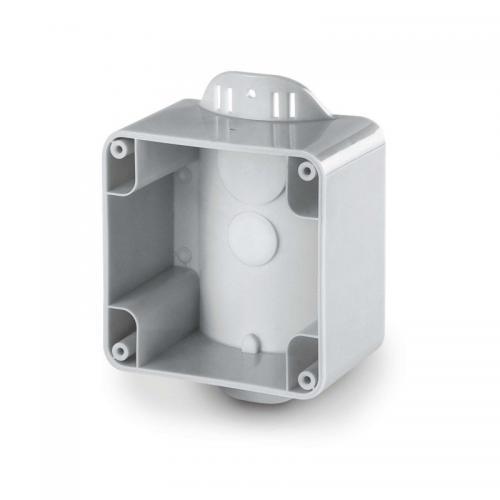 SCAME - Единична кутия за монтаж върху стълб - страничен M95 (95x95), Protecta IP66 137.141