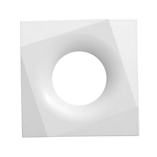 ULTRALUX - LVSSMR16WH Луна за вграждане, квадрат, стационарна, бяла, невлагозащитена