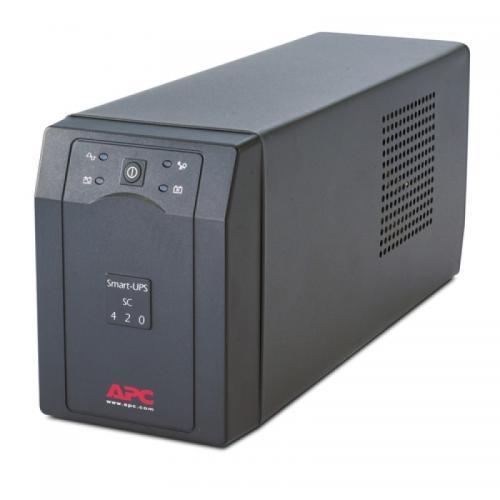 APC - Непрекъсваемо токозахранващо устройтсво Smart-UPS SC 420VA 230V