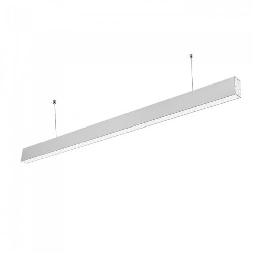 V-TAC PRO - LED Linear Light SAMSUNG Chip 40W Hanging Suspension Silver Body 4000К SKU: 375, 6000К SKU: 601 VT-7-40