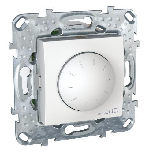 SCHNEIDER ELECTRIC - MGU5.513.18 Универсален димер девиатор UNICA за LED лампи 400 W, бял