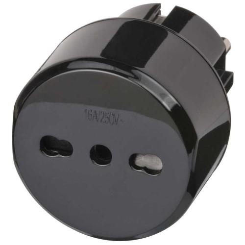 BRENNENSTUHL - 1508590 Travel Adapter Italy/Earthed