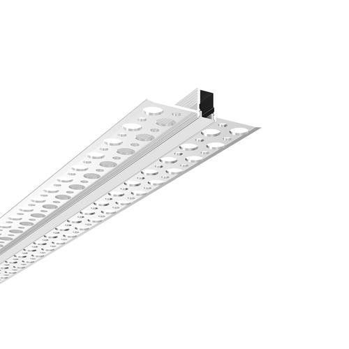 ACA LIGHTING - Алуминиев профил за лед лента за вграждане прав 2м. P129