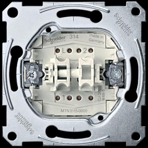 SCHNEIDER ELECTRIC - MTN3115-0000 Сериен ключ механизъм 10а