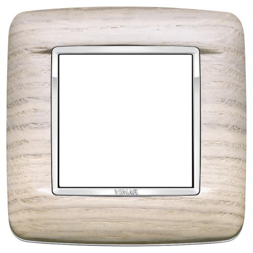 VIMAR - 20672.C32 -Двумодулна рамка Round Wood white oak
