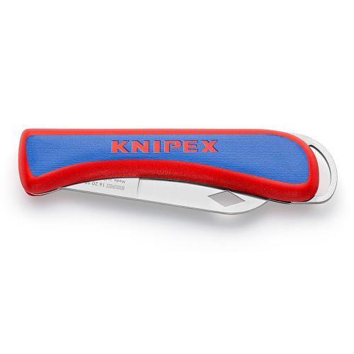 KNIPEX - Сгъваем нож за електротехници 80мм острие 162050SB