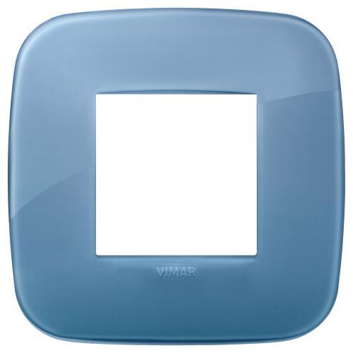 VIMAR - 19672.64 - Двумодулна рамка Round  marine blue