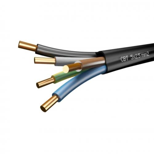 БЪЛГАРСКИ КАБЕЛ - кабел СВТ 5X1.5ММ²