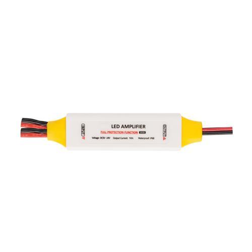 ULTRALUX - PSCAMP ПРОФЕСИОНАЛЕН УСИЛВАТЕЛ ЗА ЕДНОЦВЕТНО LED ОСВЕТЛЕНИЕ, 5-24V DC, 10A, IP63