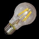 V-TAC - LED Крушка 8W Filament Patent E27 A60 Топло Бяла Светлина SKU 4363 VT-1988