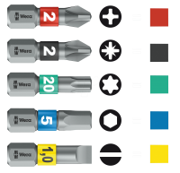 WERA - Комплект инструменти Kraftform Kompakt 100 (52 части) (2)